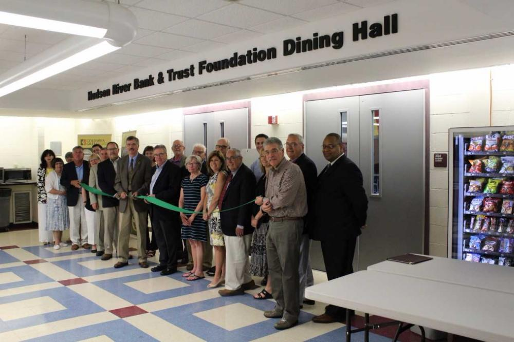 Ribbon cutting at HRBT Foundation Dining Hall