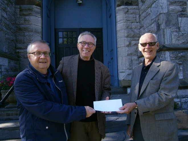 HRBT Funding Helps Support the Church Roof